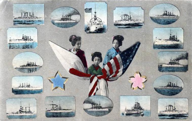 Great White Fleet go to Japan
