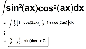 Integral of sin^2x cos^2x
