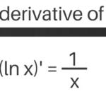 Derivative of ln x, lnx^2, 1/lnx & More