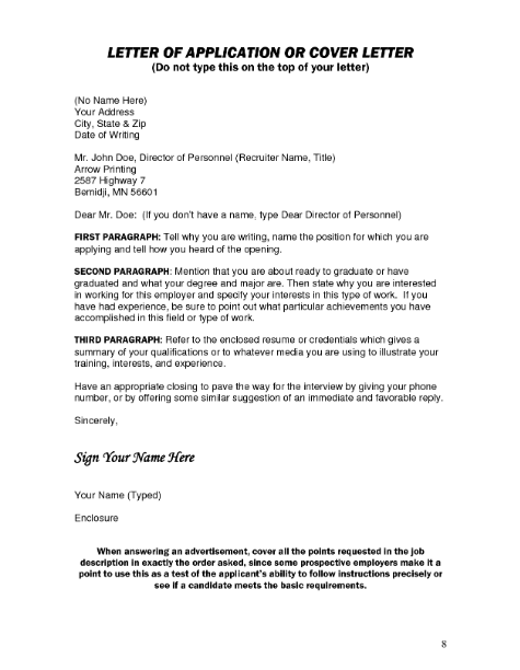 Cover Letter Recipient Unknown from studyqueries.com