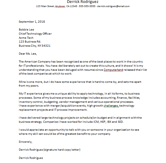 Business Letter Of Interest from studyqueries.com