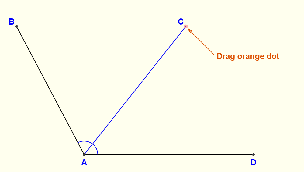 The Line AC Is Common For Both Adjacent Angles