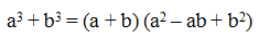 Sum Of Cubes Formula