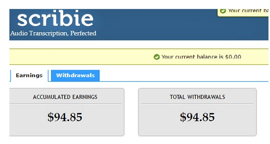 Scribie Jobs, Payouts, Employee Reviews & Ratings