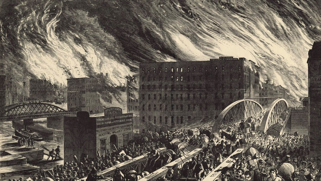 The Great Fire - History Of Chicago