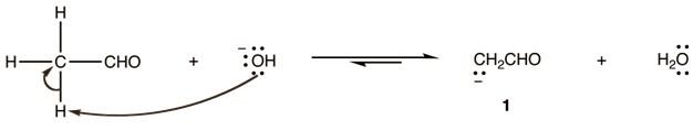 Mechanism Of Aldol Condensation Step 1