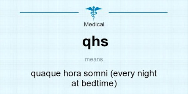 QHS Medical Abbreviation