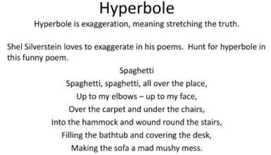 Poetry With Hyperboles