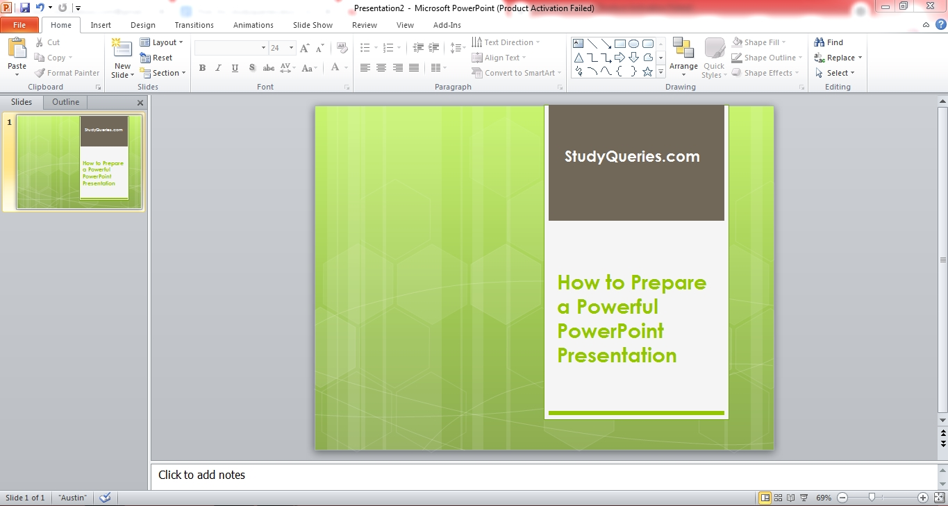How to Prepare a Powerful PowerPoint Presentation