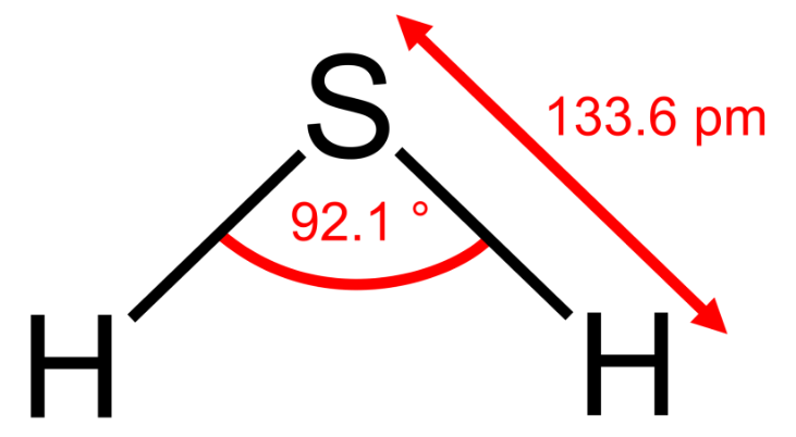 Hydrosulfuric Acid Formula And Structure