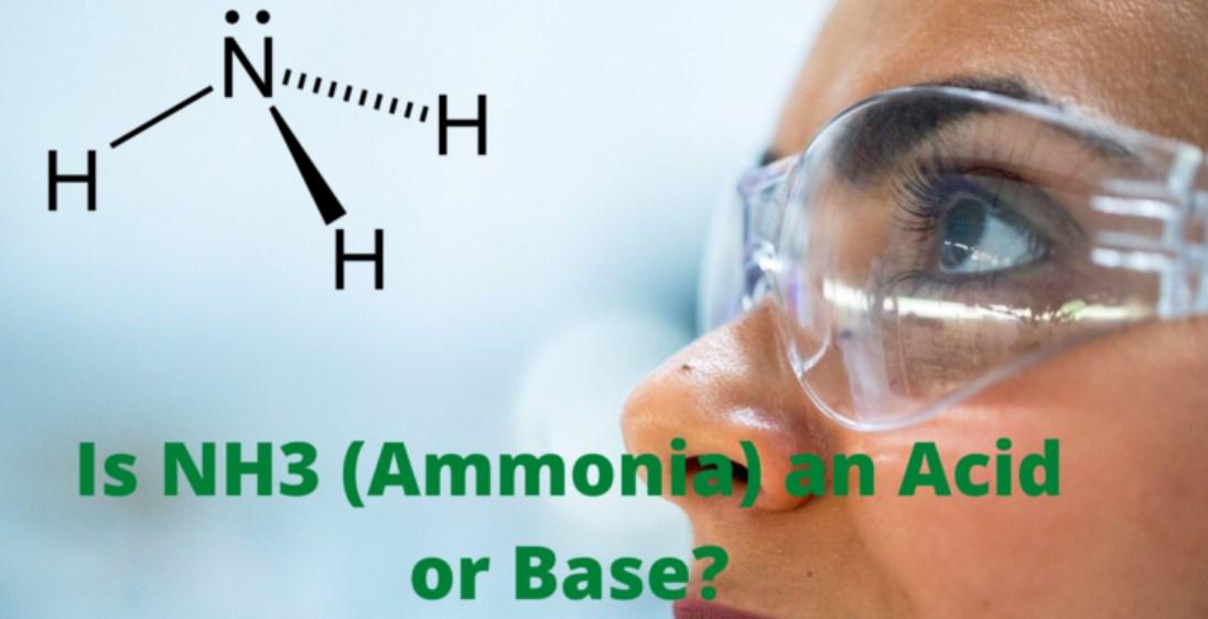 Is NH3 A Lewis Acid Or Base