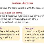 Combine Like Terms Calculator